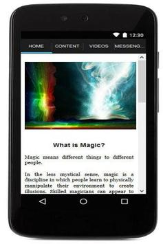 JustMagic apk screenshot