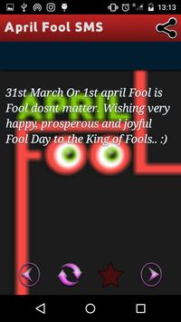 April Fool SMS - Funny All Fools Day Messages poster