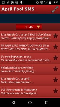 April Fool SMS - Funny All Fools Day Messages screenshot 5
