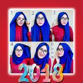 أنماط الحجاب خطوة بخطوة 2018 icon