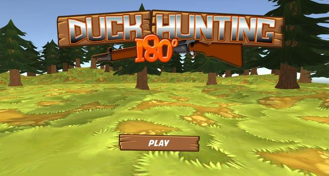 Duck Hunting 180° poster