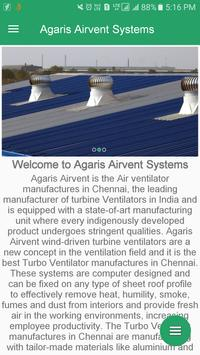 Agaris Airvent Systems poster