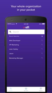 Sift poster