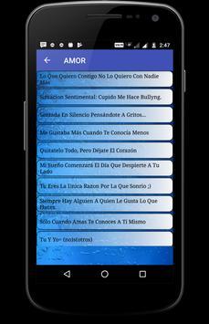 Frases bonitas de Amor apk screenshot
