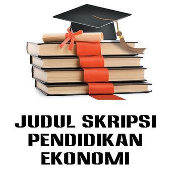Judul Skripsi Ekonomi poster