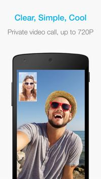 JusTalk - free video calls and fun video chat app poster