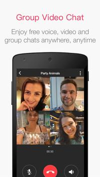 JusTalk - Free Group Video Chat & Video Calls App poster
