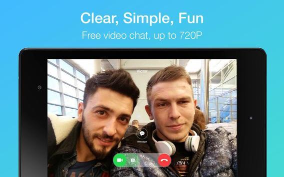 JusTalk - free video calls and fun video chat app apk screenshot