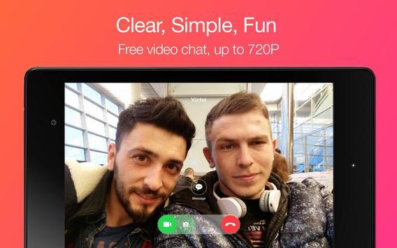 JusTalk - Chamadas de vídeo apk imagem de tela