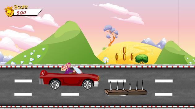 Traffic Car Racing for Barbie poster