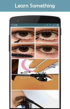 Applying Mascara Tutorial screenshot 3
