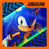 The Blue Fast Sonic  Adventure Games icon