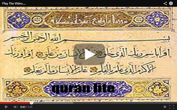 iQuran Lite audio lengkap apk screenshot
