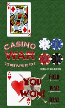 Casino War poster