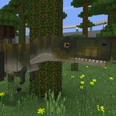 Jurassic Craft Mod for Minecraft icon