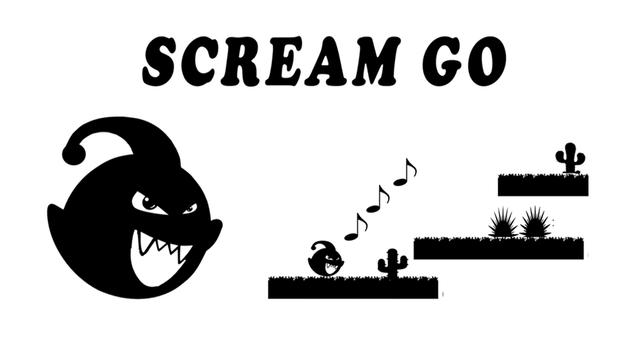 free Scream Go : 8 Eighth note poster