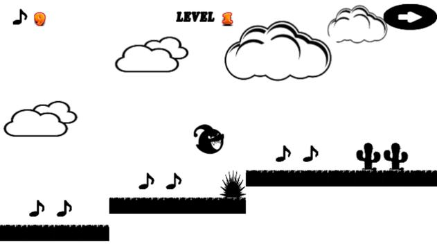 free Scream Go : 8 Eighth note screenshot 1