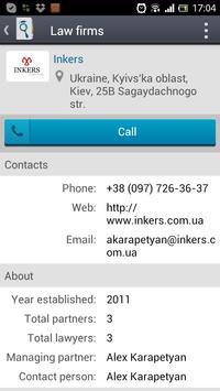 JurFinder lawyer & attorney apk screenshot