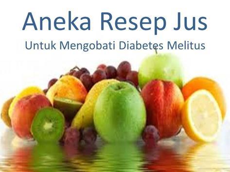 Aneka Jus untuk Diabetes poster