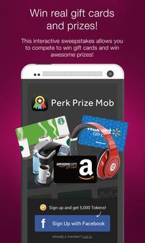 Perk Prize Mob poster