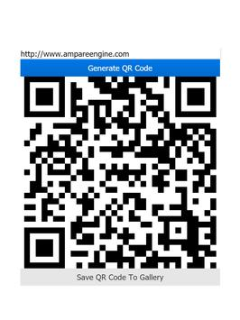 Ampare QR Code Creator apk screenshot