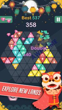 Triangle - Block Puzzle Game स्क्रीनशॉट 4