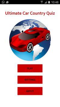 Ultimate Car Country Quiz screenshot 5