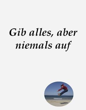Motivational phrases in German screenshot 4