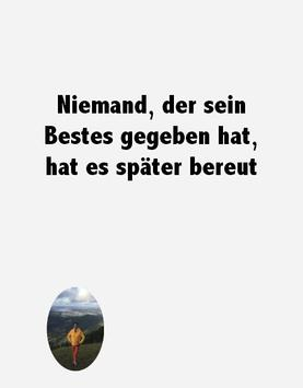 Motivational phrases in German screenshot 1