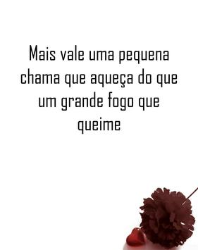 Portuguese love quotes screenshot 8