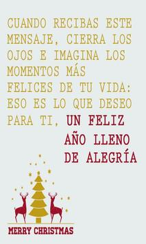 Frases de Navidad poster