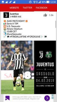Juventus All News screenshot 1