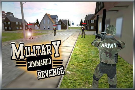 Military Commando Revenge poster