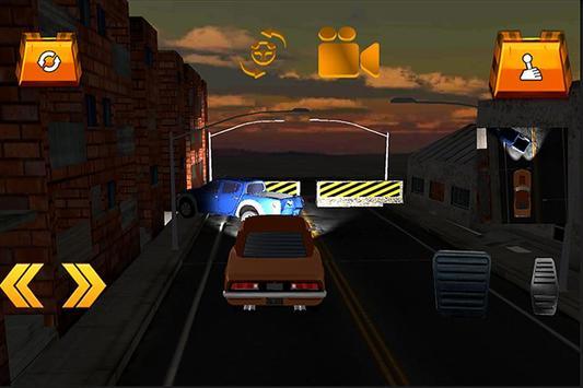 Old Muscle Car City Driving apk screenshot