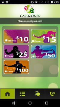 CardZone screenshot 2