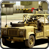 Combat Jeep Driving Simulator icon