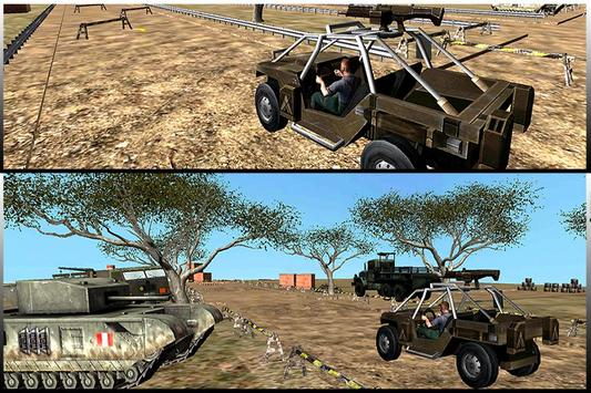 Combat Jeep Driving Simulator apk screenshot