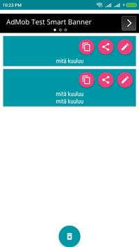 Finnish Voice To Text Converter screenshot 3