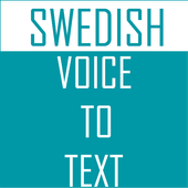 Swedish Voice To Text Converter icon