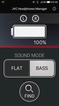 JVC Headphones Manager screenshot 2