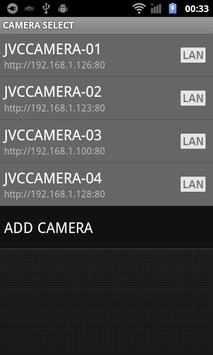 JVC CAM Control Single screenshot 1