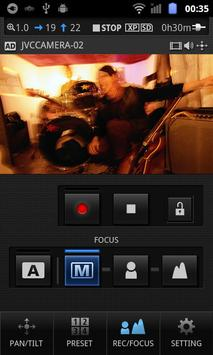 JVC CAM Control Single screenshot 4
