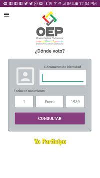 Yo Participo OEP apk screenshot