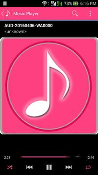 Music Player For Song apk screenshot