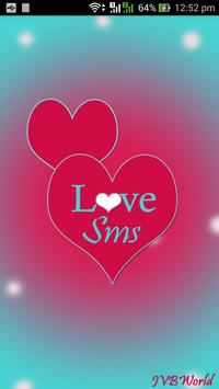 Love SMS poster