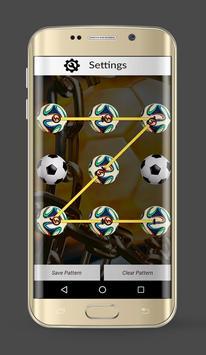 Real Football Lock Screen apk screenshot
