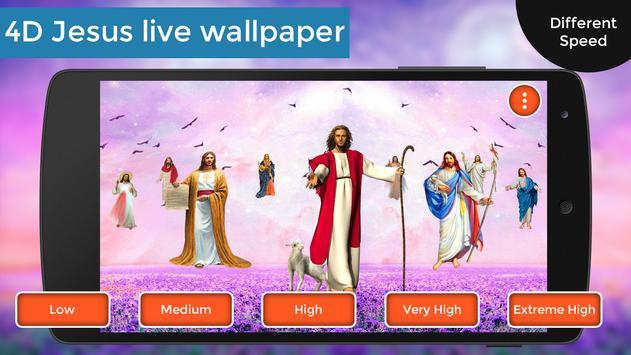 4D Jesus Live Wallpaper screenshot 1