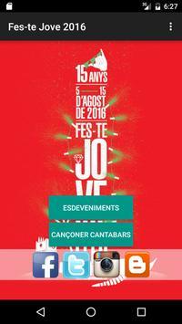 Fes-te Jove 2016 poster
