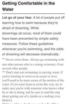 How To Swim screenshot 3