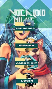 Vocaloid Music poster